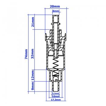 pumpe ersatzteil seifenspender sanitaer. Black Bedroom Furniture Sets. Home Design Ideas