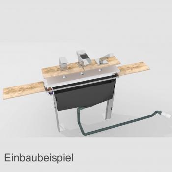 montageblock 2 bis 5 loch wannenrandarmaturen grundk rper. Black Bedroom Furniture Sets. Home Design Ideas