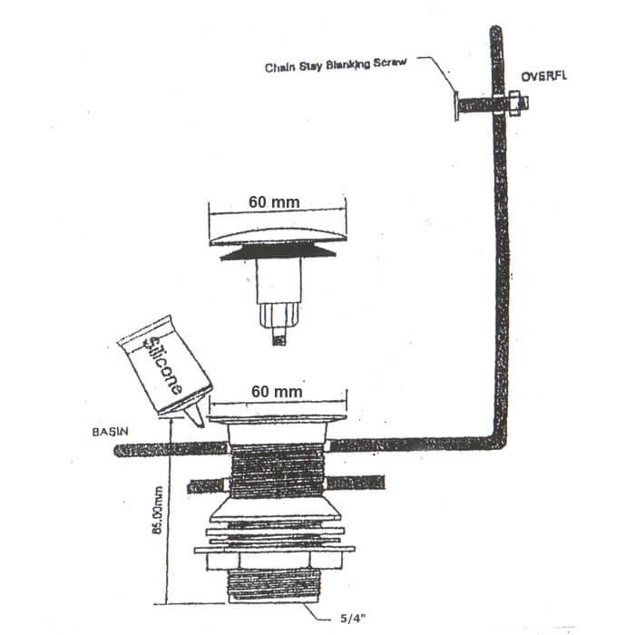 ablaufgarnitur in antik messing sanitaer. Black Bedroom Furniture Sets. Home Design Ideas