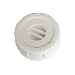 Verschlusskappe 1zoll Einteilig Kunststoff Weiss