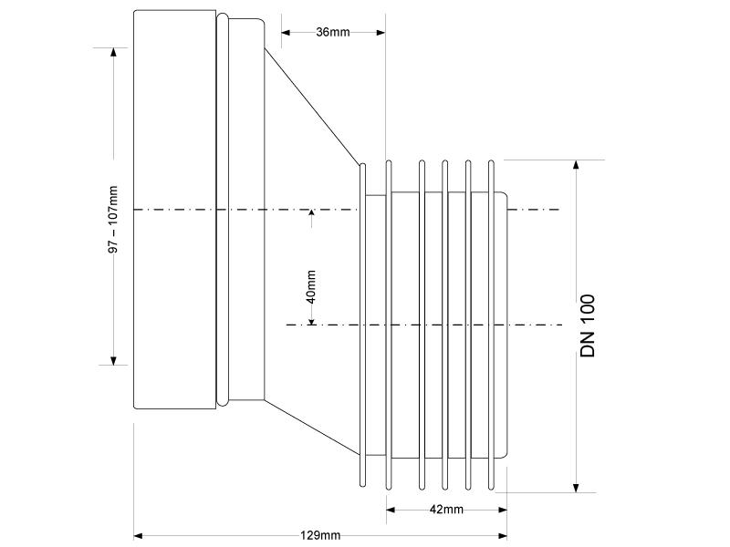 wc anschluss vorwandinstallation dn 100 sanitaer. Black Bedroom Furniture Sets. Home Design Ideas