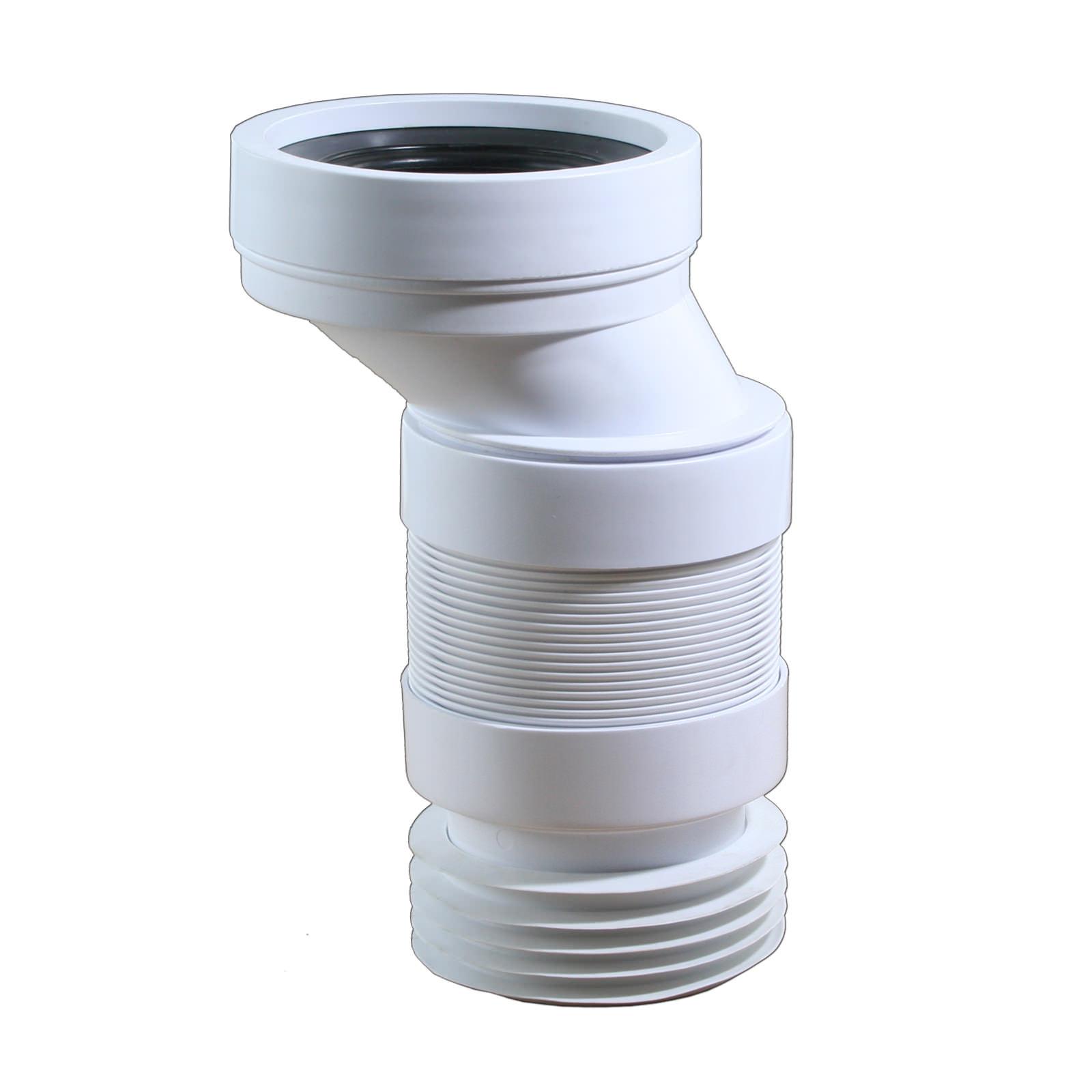flexible wc anschluss dn 100 4 cm versatz sanitaer
