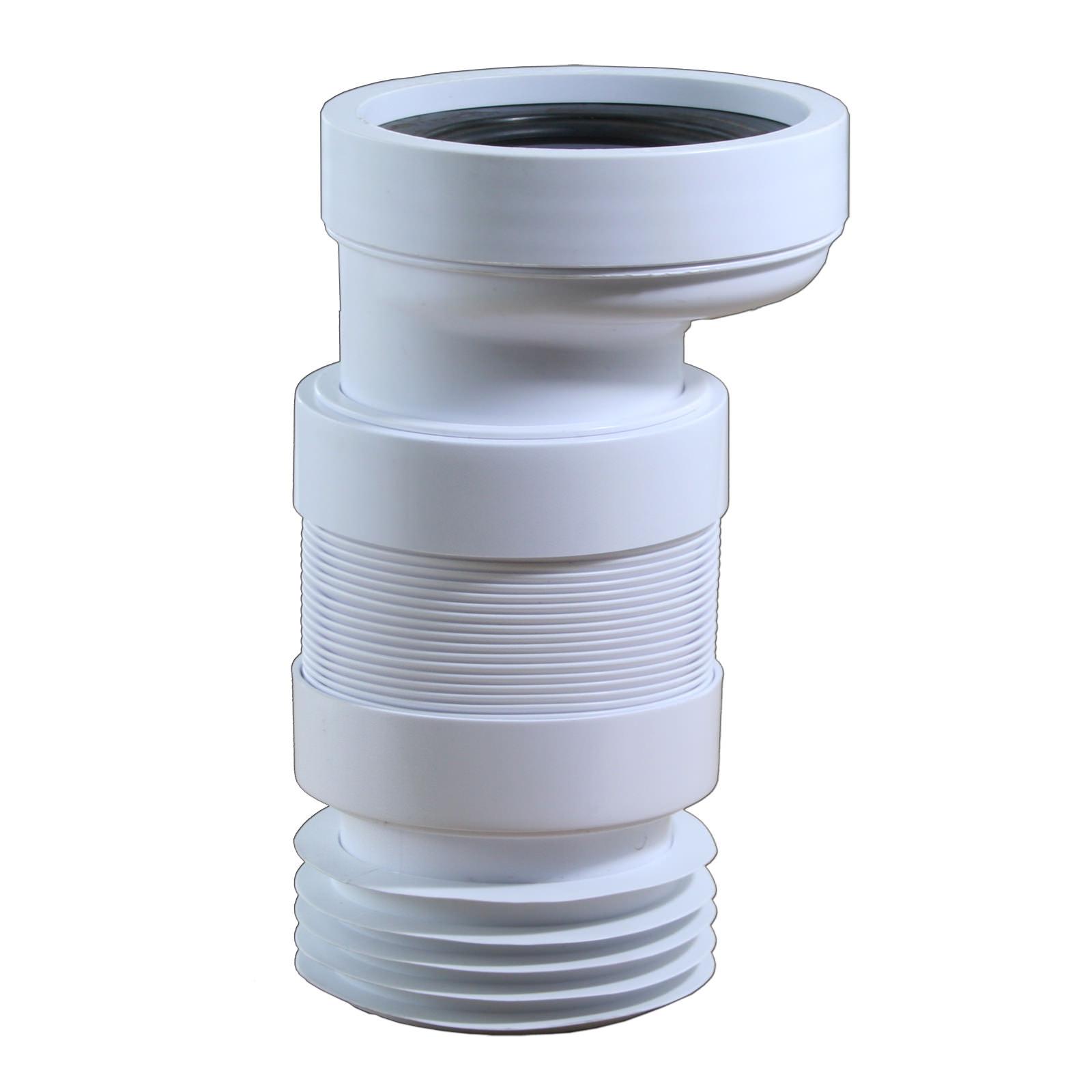 flexible wc anschluss dn 100 2 cm versatz sanitaer. Black Bedroom Furniture Sets. Home Design Ideas