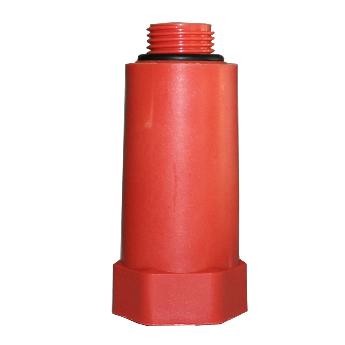 Baustopfen Kunststoff AbdrALckstopfen 1/2 Zoll, Rot / Blau (Farbe: Blau, : ) SP-Baustopfen-Blau