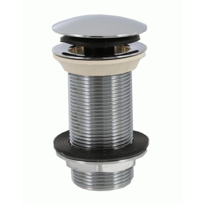 Mcalpine Ablaufgarnitur aus massivem Messing für Waschbecken ohne Überlauf SP-CWU60-CB