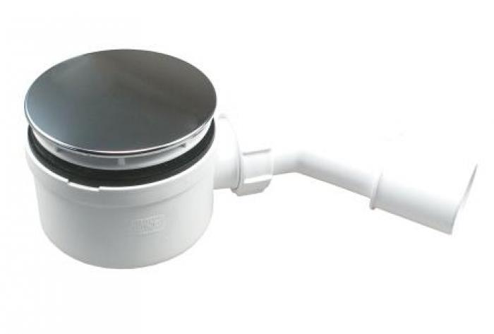 Mcalpine Duschablauf Ø90, Bauhöhe 58mm SP-HC2730L-CPN