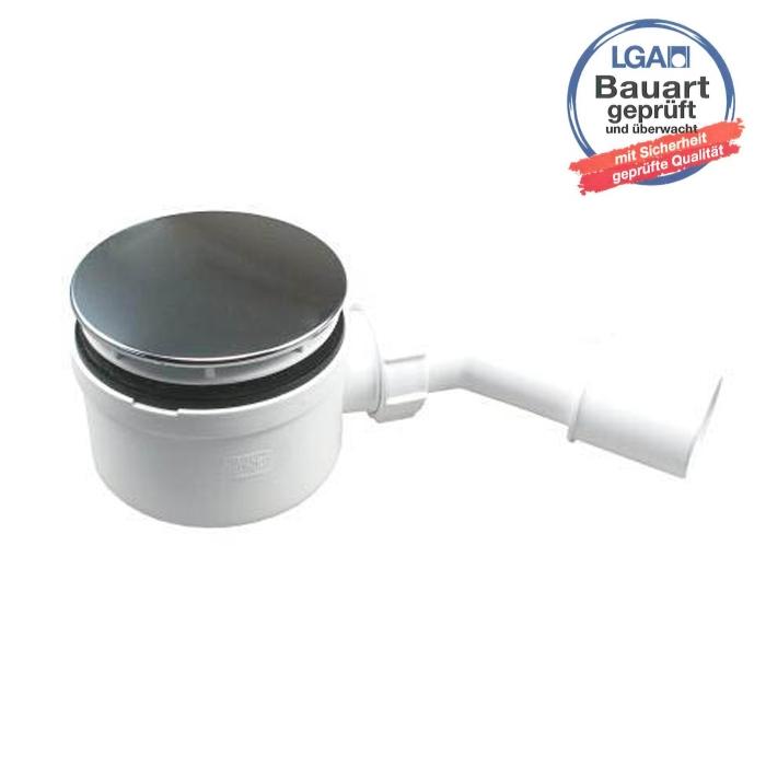 Mcalpine Duschablauf Ø90, Bauhöhe 70mm SP-HC-2734-LCPN