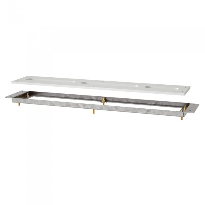 Drachstein Montagerahmen / Montageplatte für Fliesenrandarmatur SP-MR 720-137