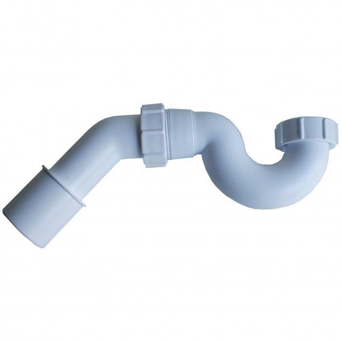 Mcalpine Röhren-Siphon für Badewanne 6/4 Zoll, Abgang Ø40/50 mm SP-HC251-45