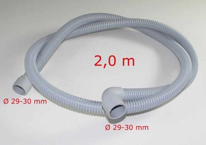 Drachstein Ablaufschlauch 2 Meter für Geschirrspüler SP-Ablaufschlauch