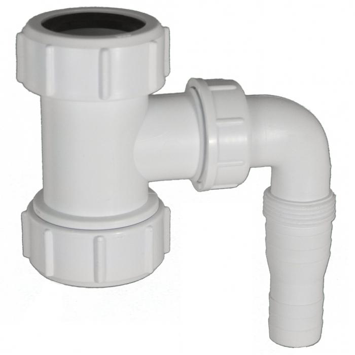 Waschgeräteanschluss - Quetschverschraubungen 5/4 Zoll